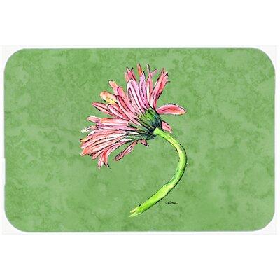 Gerber Daisy Pink Kitchen/Bath Mat Size: 20 H x 30 W x 0.25 D