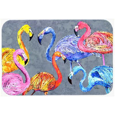 Flamingo Six Senses Kitchen/Bath Mat Size: 20 H x 30 W x 0.25 D