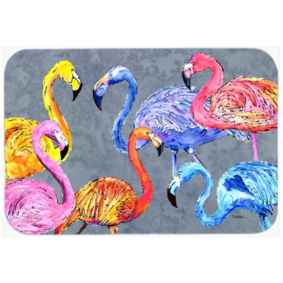 Flamingo Six Senses Kitchen/Bath Mat Size: 24 H x 36 W x 0.25 D
