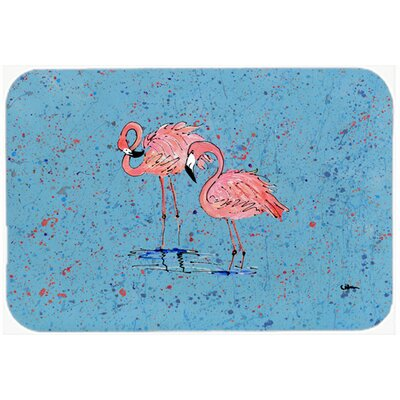 Flamingo Kitchen/Bath Mat Size: 20 H x 30 W x 0.25 D