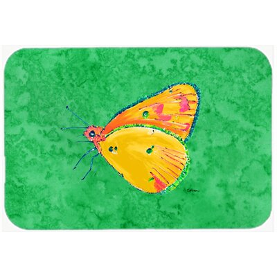 Butterfly Kitchen/Bath Mat Size: 24 H x 36 W x 0.25 D
