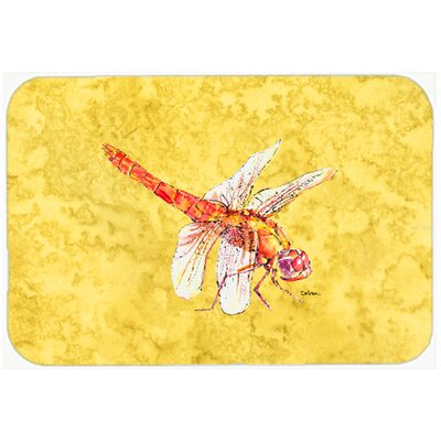 Dragonfly Kitchen/Bath Mat Size: 24 H x 36 W x 0.25 D