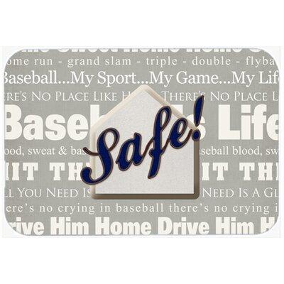 Safe At Home Kitchen/Bath Mat Size: 24 H x 36 W x 0.25 D