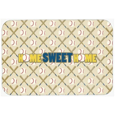 Home Sweet Home Kitchen/Bath Mat Size: 20 H x 30 W x 0.25 D