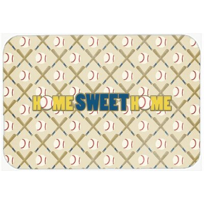 Home Sweet Home Kitchen/Bath Mat Size: 24 H x 36 W x 0.25 D