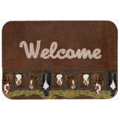 Welcome Mat Size: 20 H x 30 W x 0.25 D