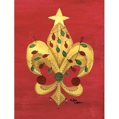 Christmas House Vertical Flag