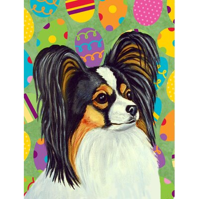 Papillon Easter Eggtravaganza 2-Sided Garden Flag