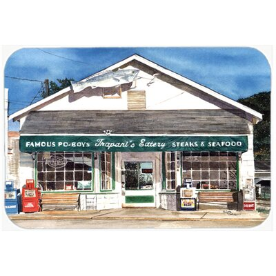 Trapani's Eatery Kitchen/Bath Mat Size: 24