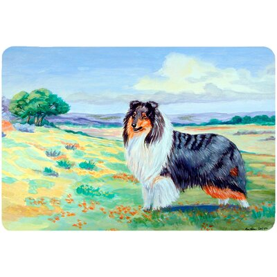 Collie Kitchen/Bath Mat Size: 24 H x 36 W x 0.25 D
