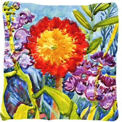 Landon Flower Indoor/Outdoor Throw Pillow