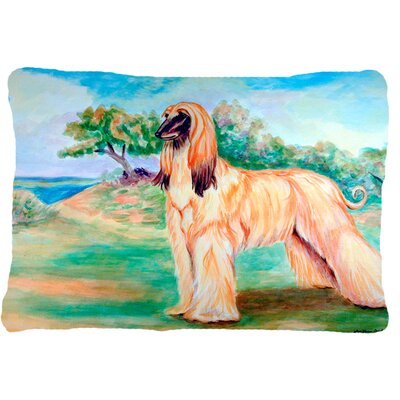 Afghan Hound Rectangular Indoor/Outdoor Throw Pillow