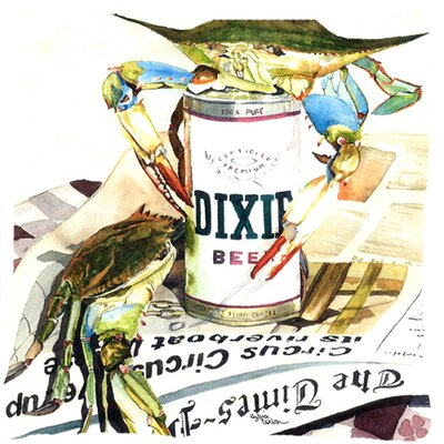 Dixie Beer Indoor/Outdoor Throw Pillow