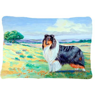 Collie Rectangular Indoor/Outdoor Throw Pillow