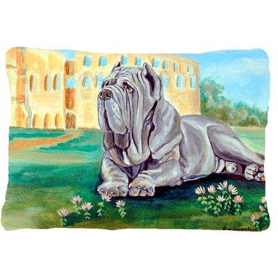 Neapolitan Mastiff Indoor/Outdoor Throw Pillow