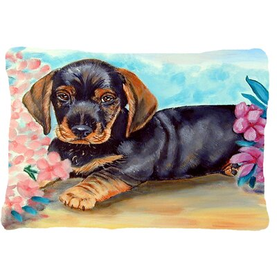 Dachshund Rectangular Indoor/Outdoor Throw Pillow
