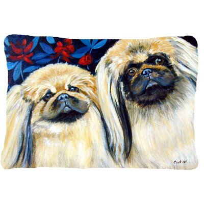 What A Pair of Pekingese Indoor/Outdoor Throw Pillow