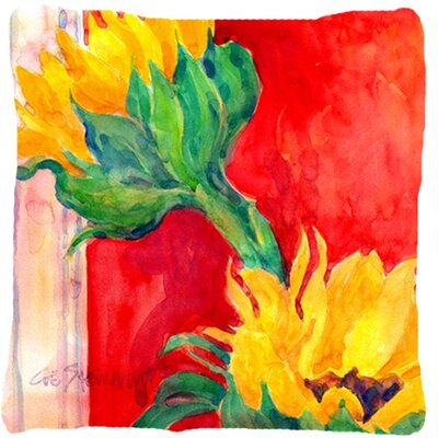 Landon Two Sunflower Indoor/Outdoor Throw Pillow