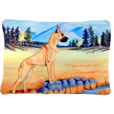 Great Dane Indoor/Outdoor Throw Pillow