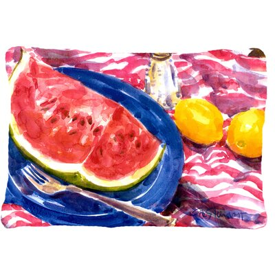 Watermelon Indoor/Outdoor Throw Pillow
