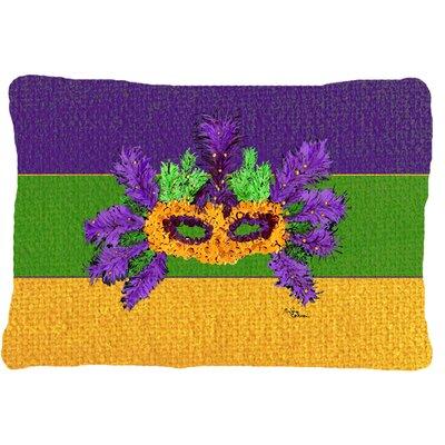 Mardi Gras Indoor/Outdoor Throw Pillow