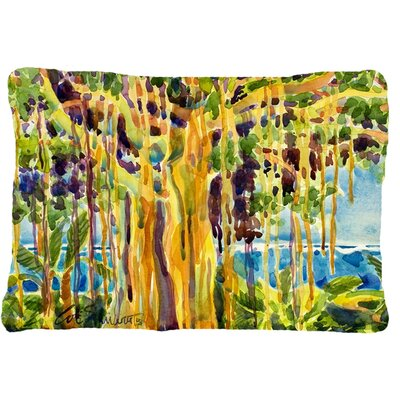 Banyan Tree Indoor/Outdoor Throw Pillow