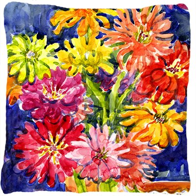 Gerber Daisies Indoor/Outdoor Throw Pillow