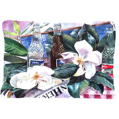 Barqs and Magnolia Indoor/Outdoor Throw Pillow