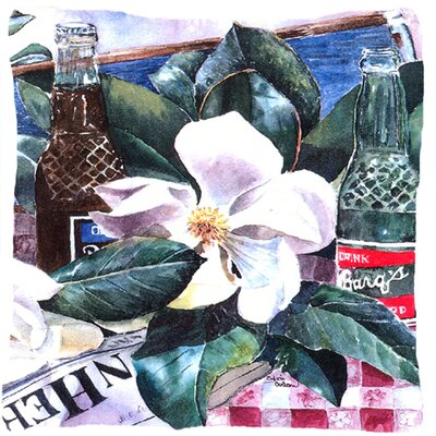 Barq's and Magnolia Indoor/Outdoor Throw Pillow