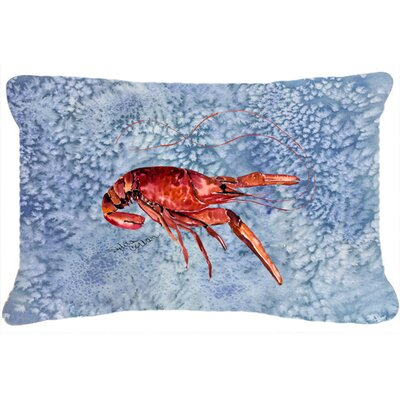 Crawfish Indoor/Outdoor Throw Pillow