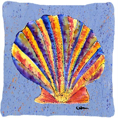 Balderston Orange/Blue Indoor/Outdoor Throw Pillow