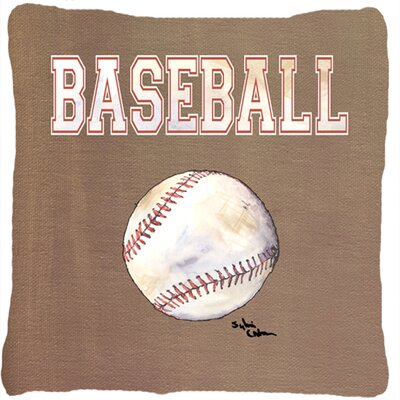 Baseball Indoor/Outdoor Throw Pillow