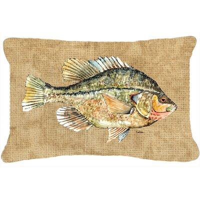 Croppie Indoor/Outdoor Throw Pillow