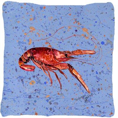 Crawfish Indoor/Outdoor Throw Pillow
