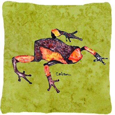 Frog Indoor/Outdoor Throw Pillow