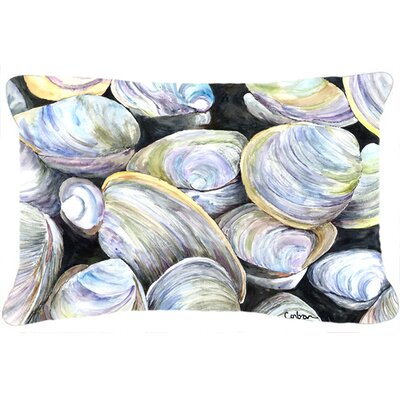 Clam Quahog Indoor/Outdoor Throw Pillow