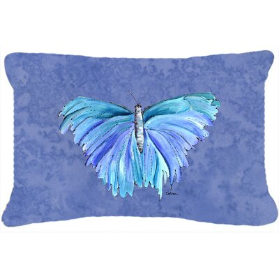 Butterfly Indoor/Outdoor Rectangular Throw Pillow