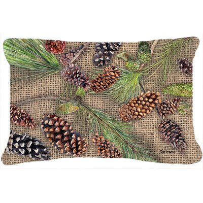 Pine Cones Indoor/Outdoor Throw Pillow