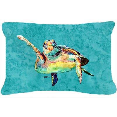 Turtle Indoor/Outdoor Throw Pillow
