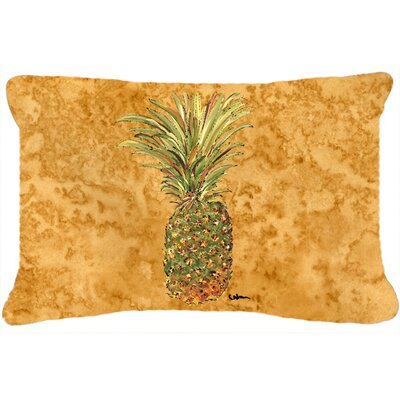 Richland Pineapple Rectangular Indoor/Outdoor Throw Pillow
