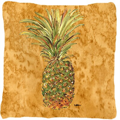 Richland Pineapple Square Indoor/Outdoor Throw Pillow