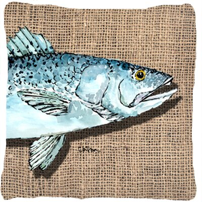 Speckled Trout Indoor/Outdoor Throw Pillow