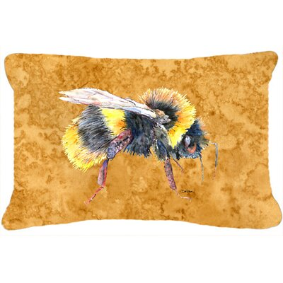 Bee Indoor/Outdoor Rectangular Throw Pillow