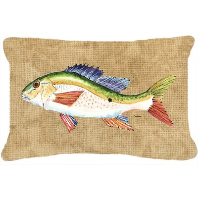 Rainbow Trout Indoor/Outdoor Throw Pillow