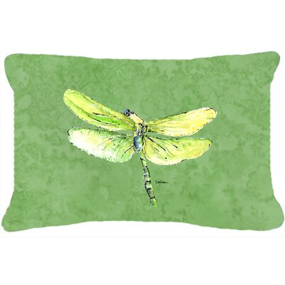 Dragonfly Indoor/Outdoor Rectangular Throw Pillow