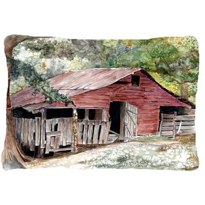 Old Barn Indoor/Outdoor Throw Pillow