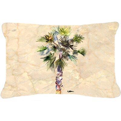 Palm Tree Indoor/Outdoor Throw Pillow