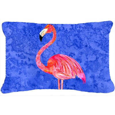 Flamingo Modern Rectangular Indoor/Outdoor Throw Pillow