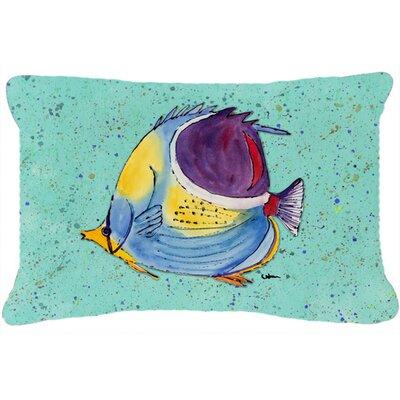 Tropical Fish Indoor/Outdoor Throw Pillow