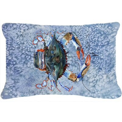 Burgett Crab Rectangular Indoor/Outdoor Throw Pillow